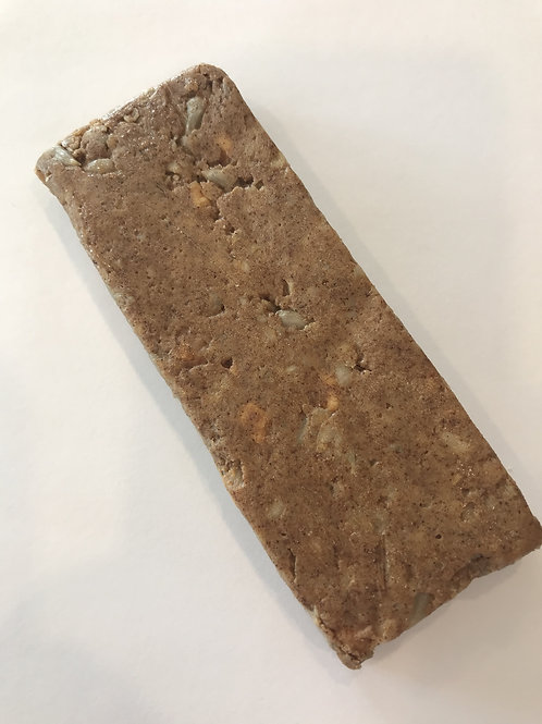 Low Fat Peanut Butter Apple Pie Protein Bar