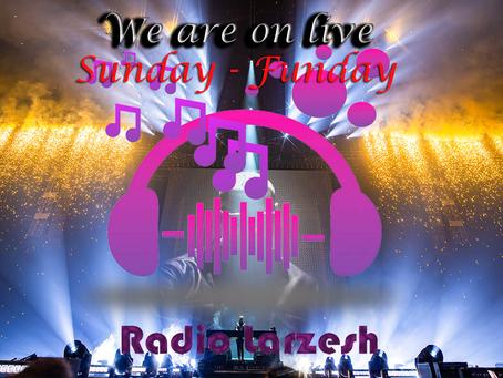 Sunday show by Radio Larzesh