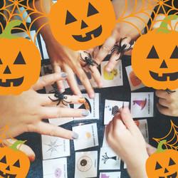 06-Orange Pumpkin Halloween Kids Party I