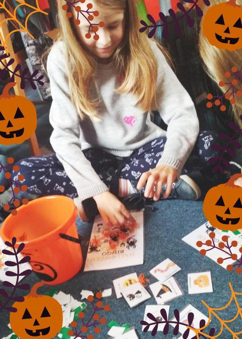 11-Orange and Violet Pumpkin Halloween F