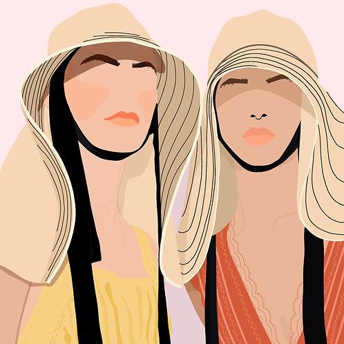 2 Women By Madeline Marino