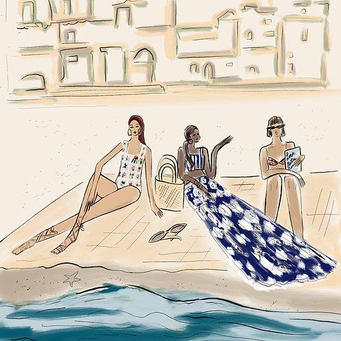 Latin style beach day by Talia Cu