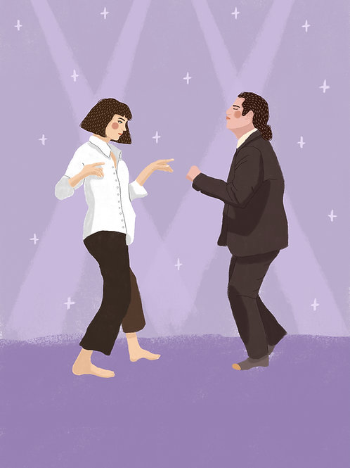 Pulp Fiction Swing By Maria Jose Guzman