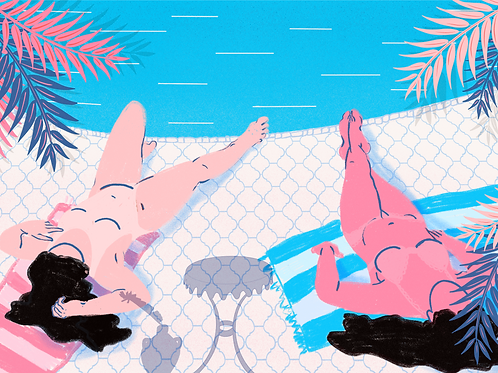 Poolside By Rialda Dizdarevic