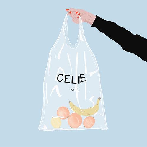 Bag Of Fruit By Madeline Marino