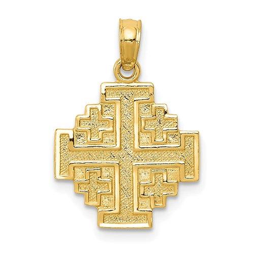 14k Jerusalem Cross
