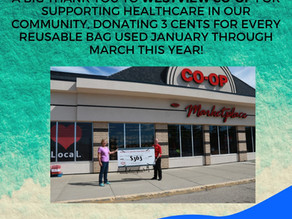Westview CO-OP Supports Healthcare in the Community