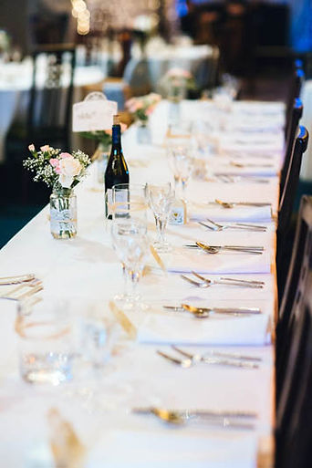 Wedding Table Scene