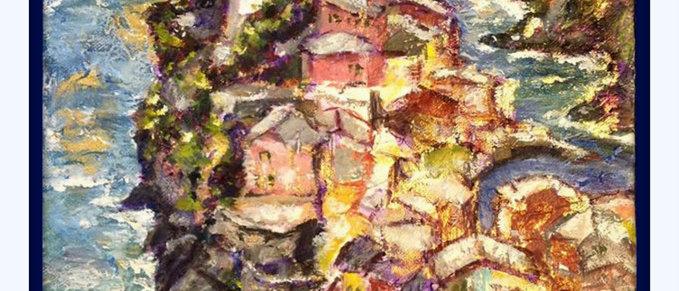 Vernazza, Cinque Terre./ Sold.