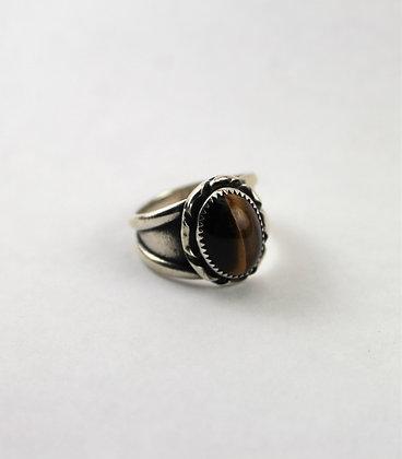 Sterling Silver & Tigers Eye Ring