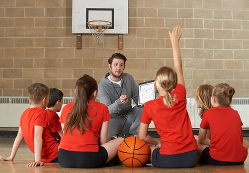 Clase de baloncesto
