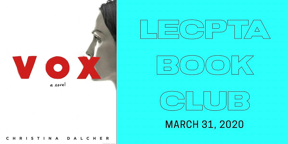 CANCELLED — March Book Club - DAY