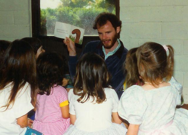 Star Tom teaching youth church