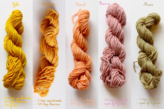 A day of natural dyeing, part 2