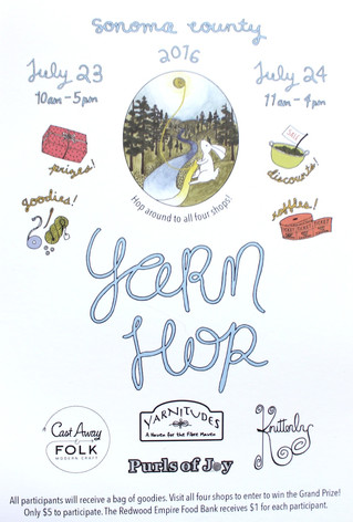 Sonoma County Yarn Hop 2016