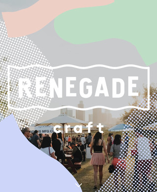 Renegade craft fair (Spring 2018)