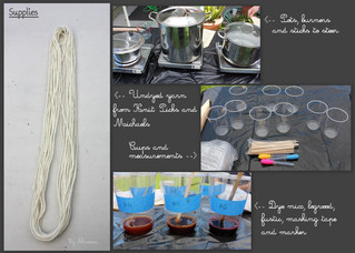 A day of natural dyeing