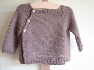 Alpaca sweater (Baby), 3-6 months old