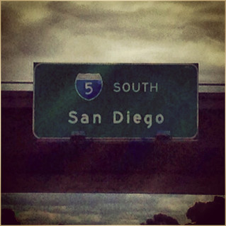 Dec 28, on the road to San Diego...