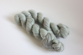 Single yarn dyeing