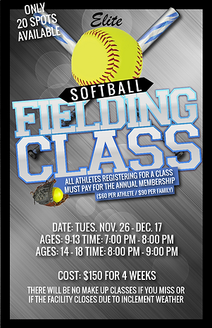 Softball fielding class session 2 2019-0