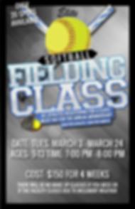 Softball fielding class session 5 2019-0