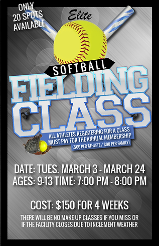 Softball fielding class session 5 2019-0