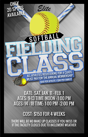 Softball fielding class session 3 2019-0
