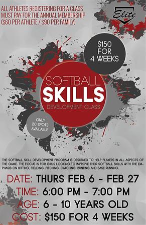 softball skills development session 4 cl