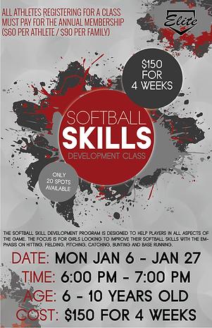 softball skills development session 3 cl
