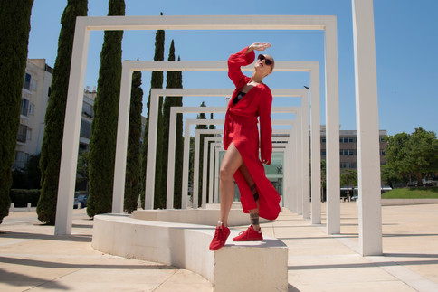 Anastasia for fashion magazine 1