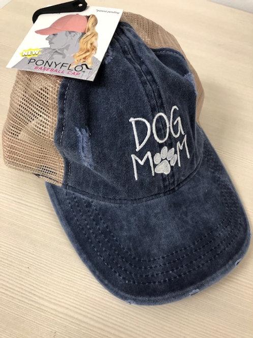 PONYFLO DOG MOM LADIES MESH BASEBALL CAP