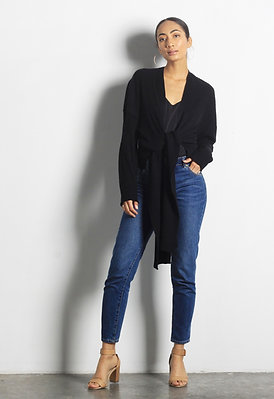 THE DANA CARDIGAN - BLACK