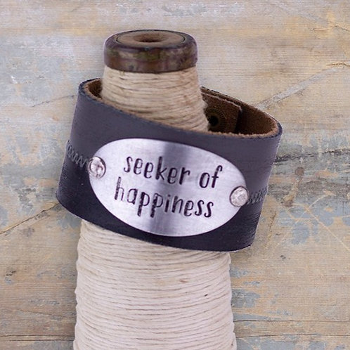 SEEKER OF HAPPINESS BRACELET CUFF