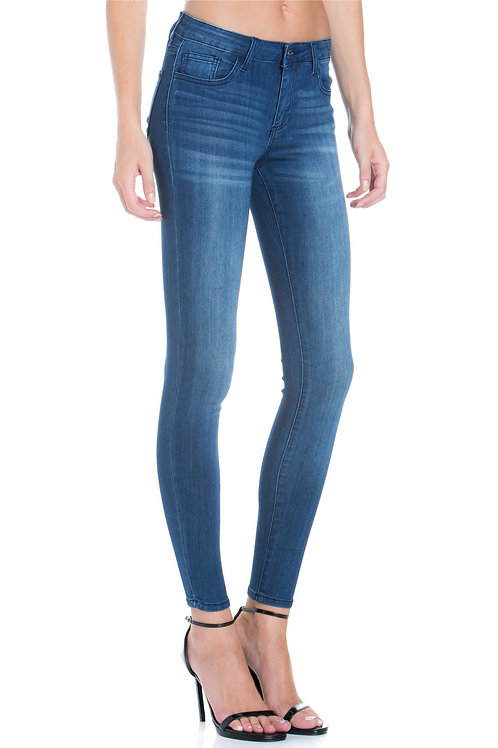 MID RISE RAYON ANKLE SKINNY