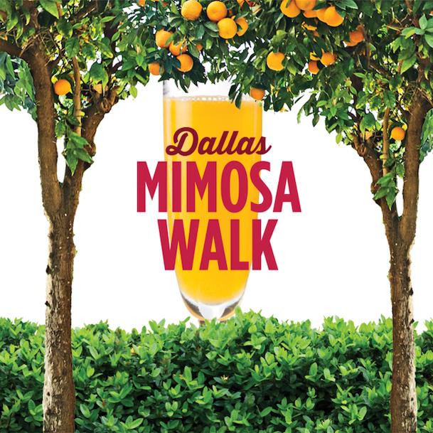 Dallas Mimosa Walk: Labor Day Weekend
