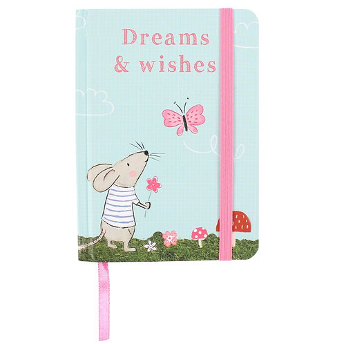Marvin Mouse - Dreams & Wishes A6 notebook