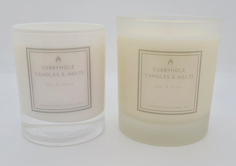 Large Gin & Tonic Soy Wax Candle