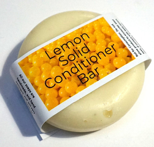 Lemon Solid Conditioner Bar