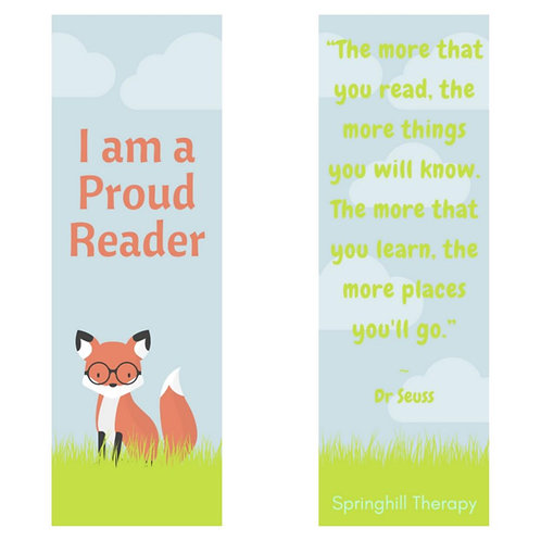 Inspirational bookmarks for children (pack of 3)