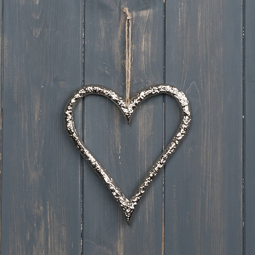 Hanging Metal Heart