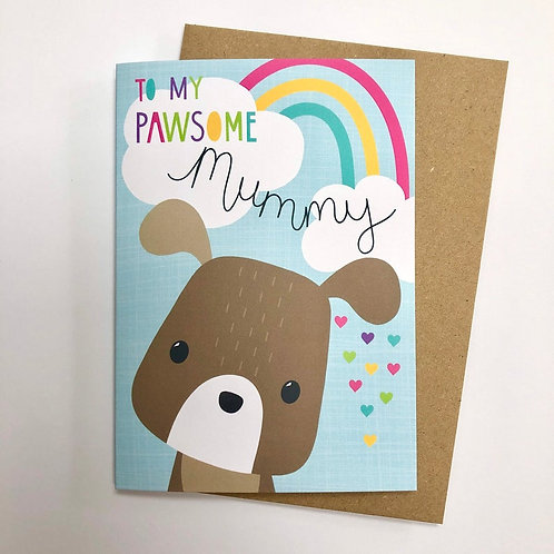 Mummy from the Dog Card!