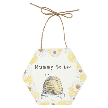 Mummy To Bee.. hanging sign