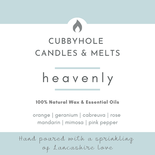 'Heavenly'  Soy Wax Melts - Wellbeing Collection