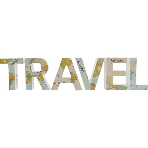 Map Travel Letters