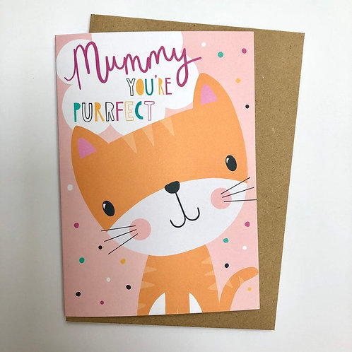 Mummy from the Cat card!