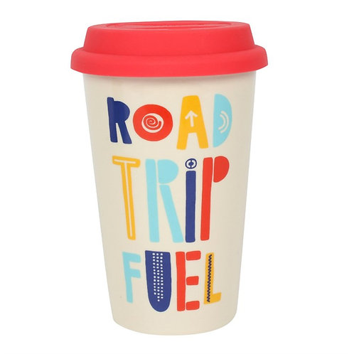 Road Trip Fuel.... Thermal Travel Mug