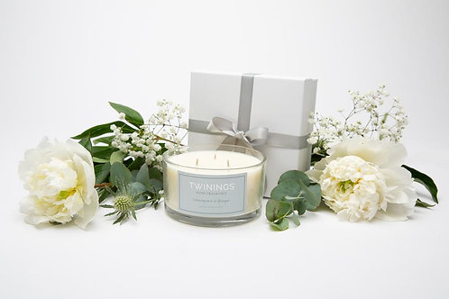 Lemongrass & Ginger Soy Wax Three Wick Candle Jar
