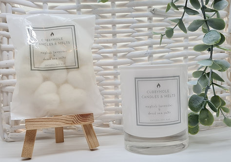 English Lavender & Dead Sea Salts Soy Wax Melts