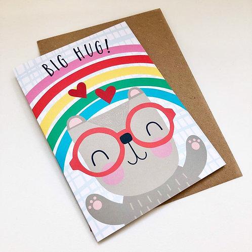 Big Hug Rainbow Card